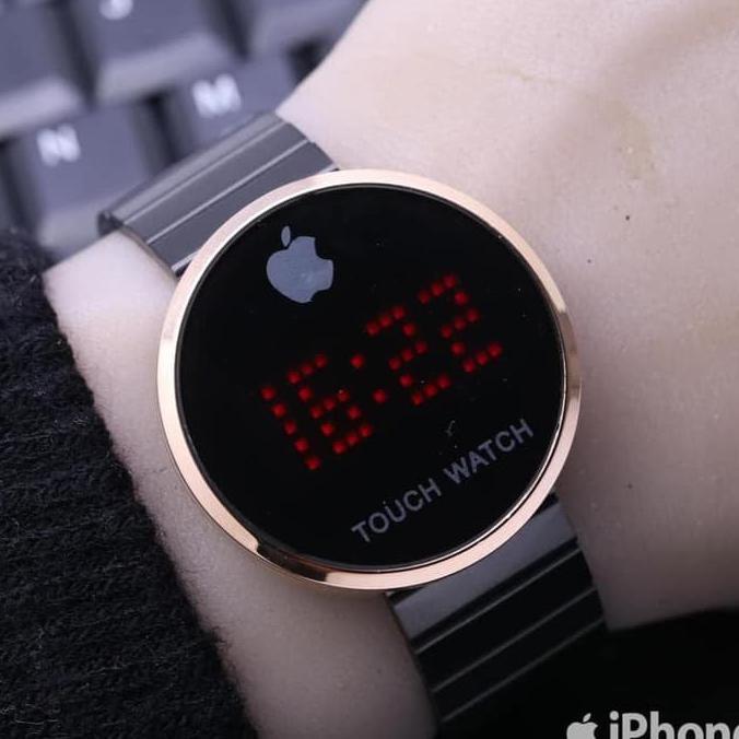 ... Bhadriyah Shop Jam Tangan Iphone Touch Screen Bulat Rantai Diameter ... 2d2000b96e