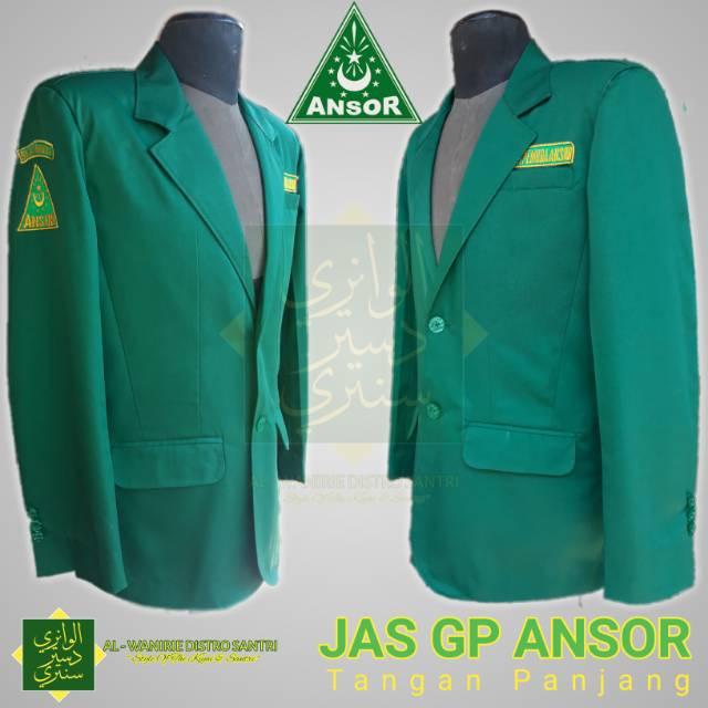Jas Resmi Gp Ansor Nahdlatul Ulama Original
