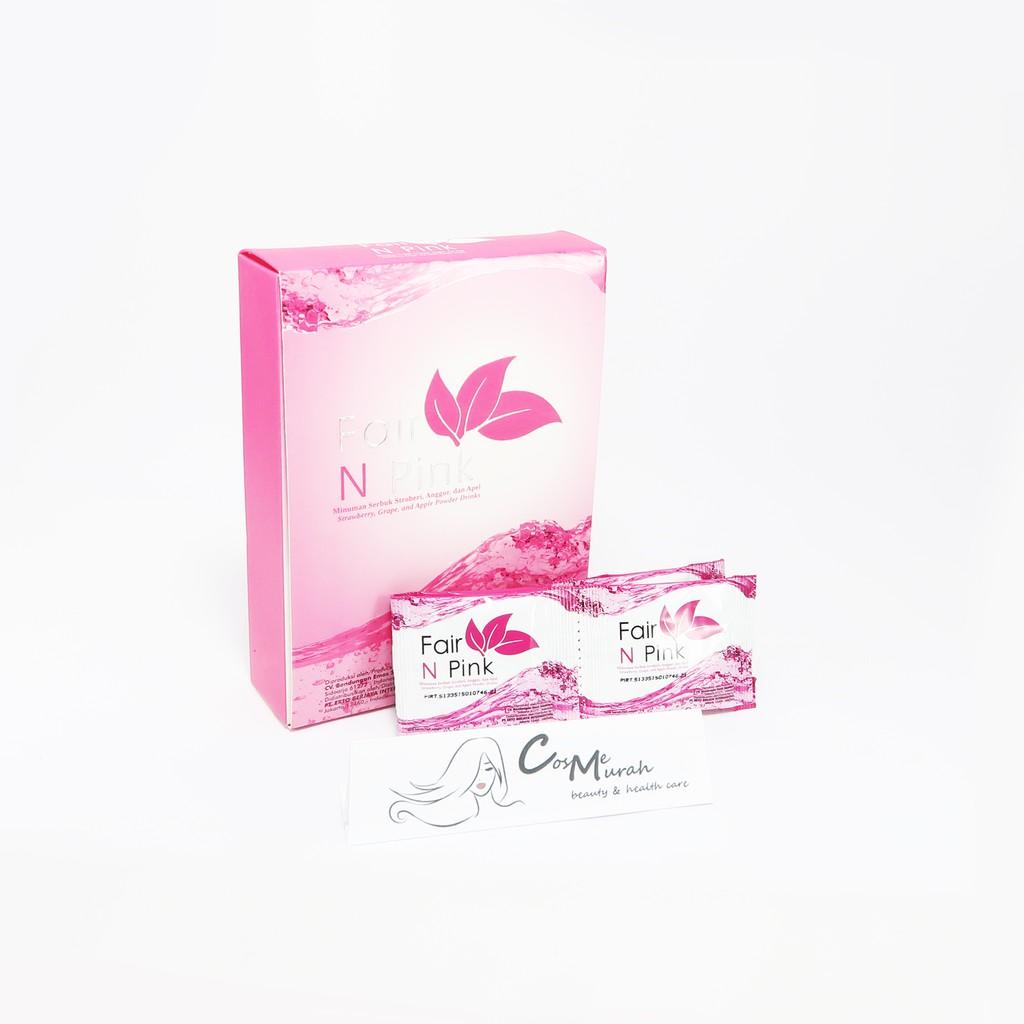 Fair N Pink Fairnpink Drink Isi 20 Sachet Original Shopee Indonesia Serum Pemutih Badan 160ml Ber Bpom