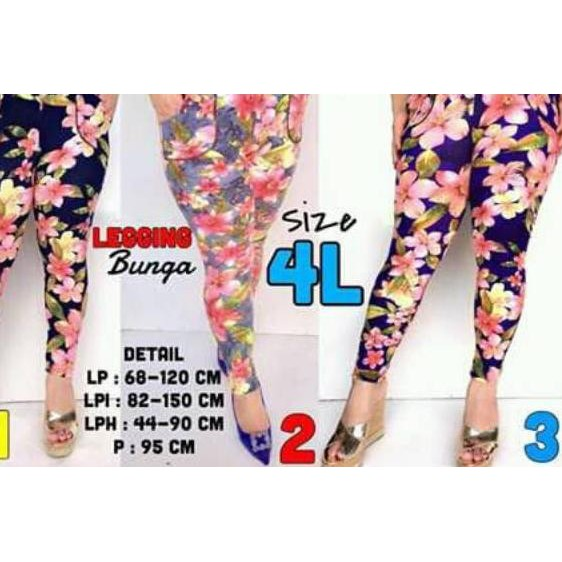 Or I 335 Celana Legging Motif Ukuran Jumbo Untuk Dewasa Ataupun Remaja Bahan Spandex Jersey Shopee Indonesia
