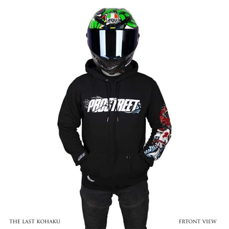 HOODIE PROSTREET The Last Kohaku V3 Original | Not Blood flower