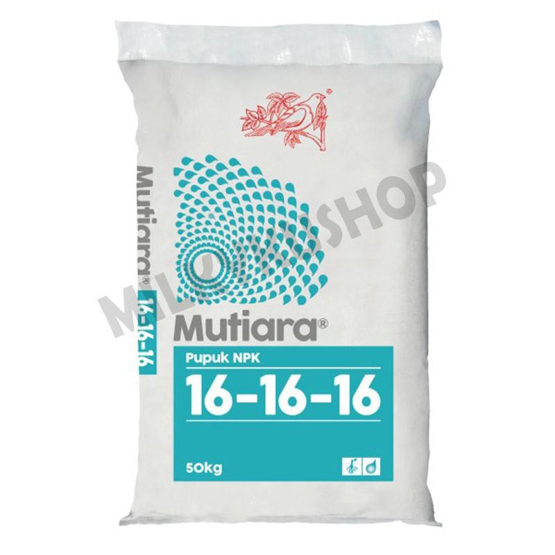 Pupuk NPK Mutiara 16 16 16 Meroke Kemasan Pabrik 50 kg 1