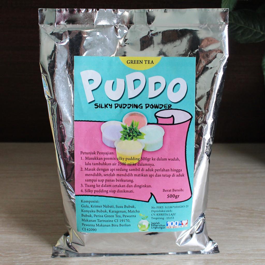 Coklat Bubble's Puddot Premix Pudding Sedot 500gr Bubuk Powder Pudot Chocolate frizco puyo moiaa | Shopee