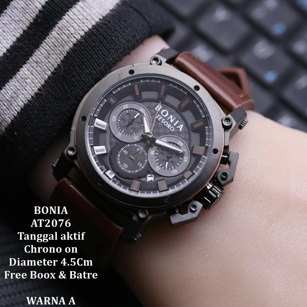 Shopee Indonesia Jual Beli Di Ponsel Dan Online Original Bonia B10052 1532 Jam Tangan Pria Leather Brown