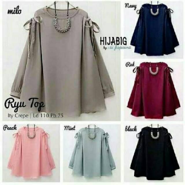 Atasan blouse wanita murah  bd43d3d215