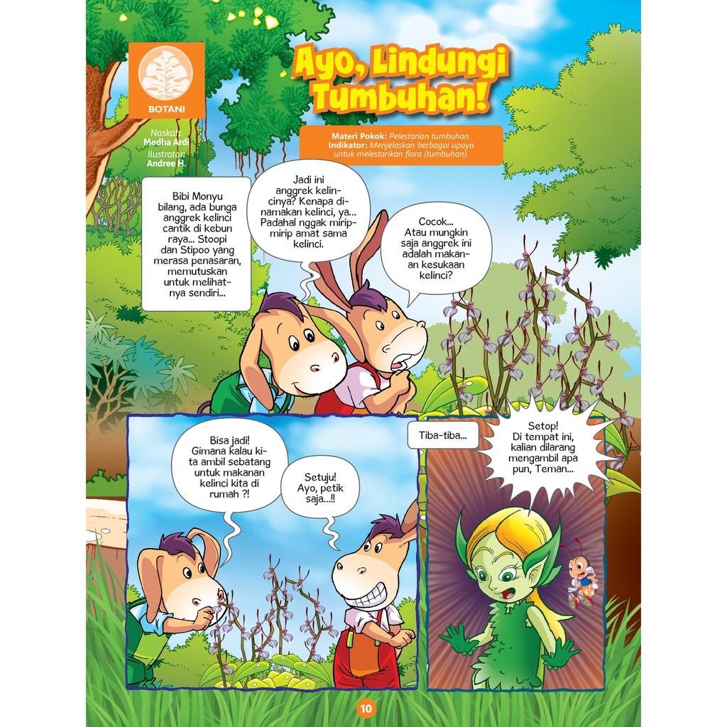 Kuark Komik Sains Level Ii Edisi 10 Tahun Xv Shopee Indonesia