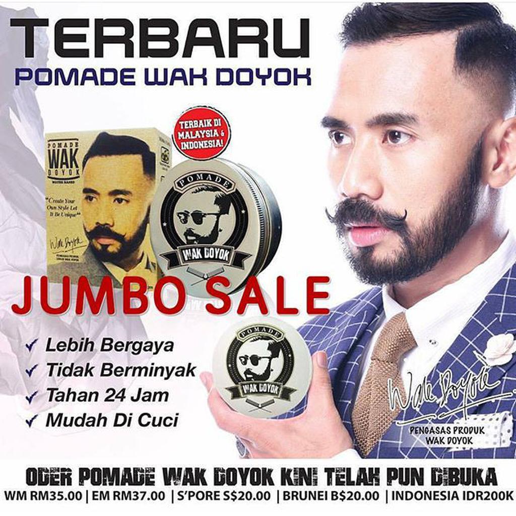 Krim Jambang Wak Doyok Original Malaysia Wakdoyok Sample 15ml Kemasan Botol 75ml Penumbuh Brewok Shopee Indonesia