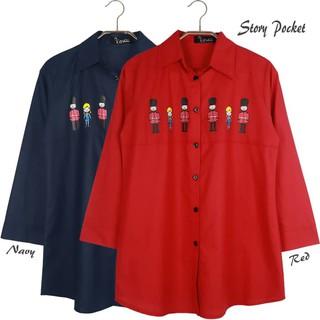 Atasan Wanita Tunik Baju Muslim Blus Muslim Story Pocket Merah XL ... f2d4cf97e8