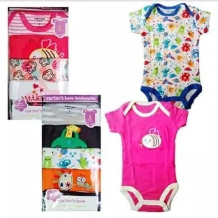 promo Jumper carters premium 5in1 baju bayi lucu cewek ...