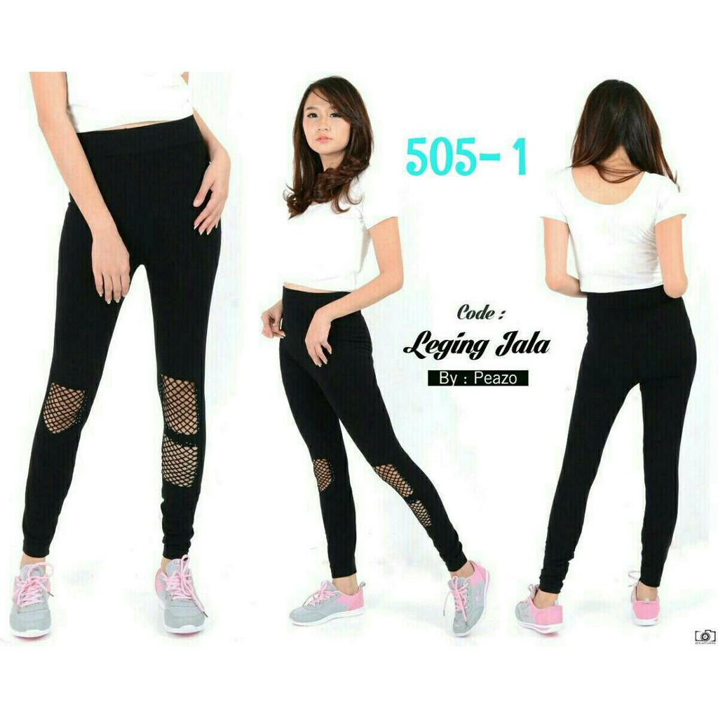 Celana Legging Fashion Peazo 505 1 Shopee Indonesia