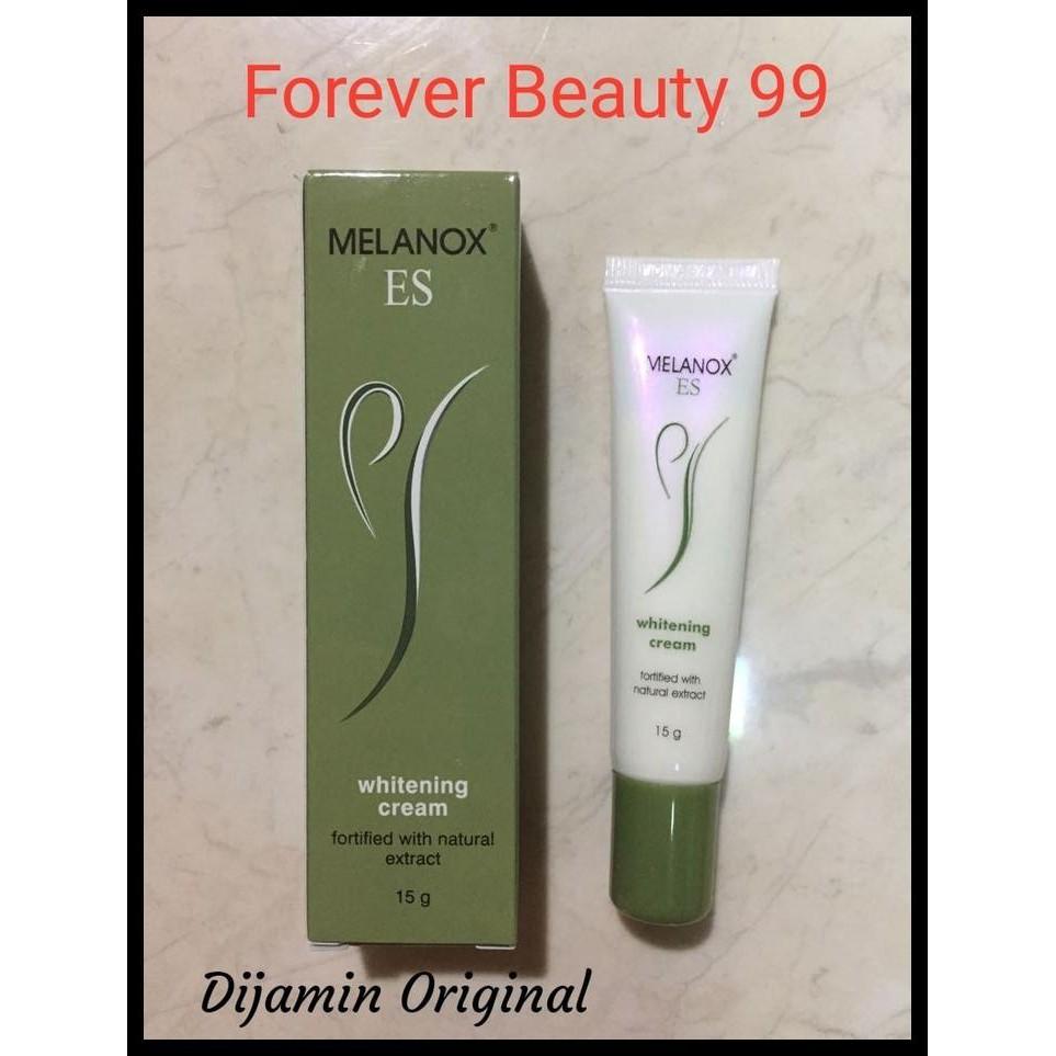 Baru Melanox Es Whitening Cream / Krim Pemutih Aman 15 Gr Pengiriman Cepat | Shopee Indonesia