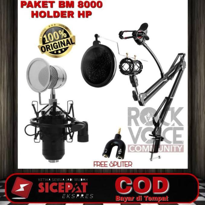 Sale!!! Paket Bm 8000 Full Set
