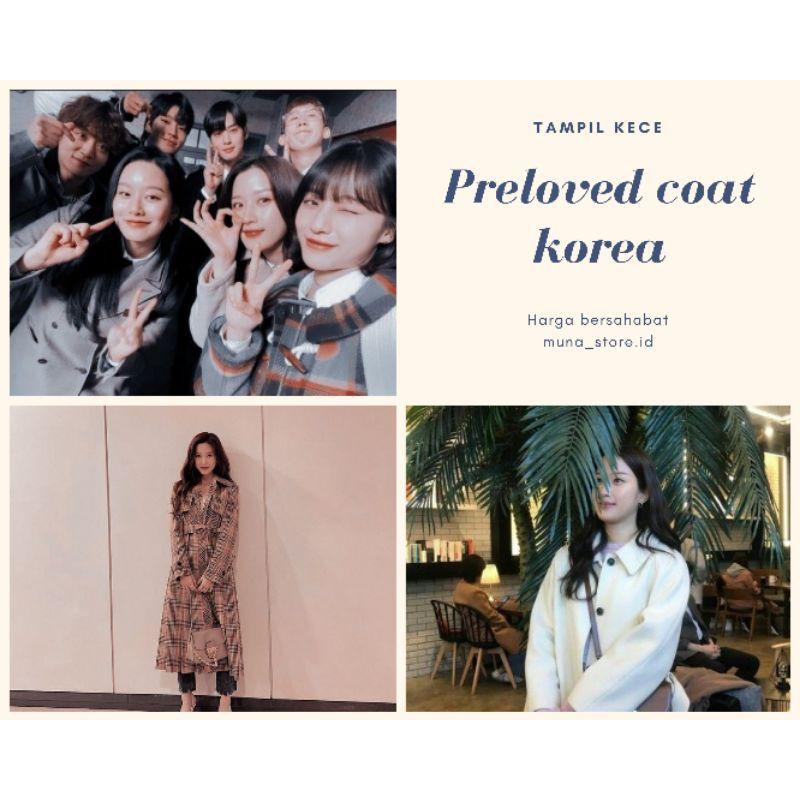Preloved Blazer Outerwear Coat Preloved Blezer Wanita Korea Coat Wanita Blazer Korea Coat Preloved