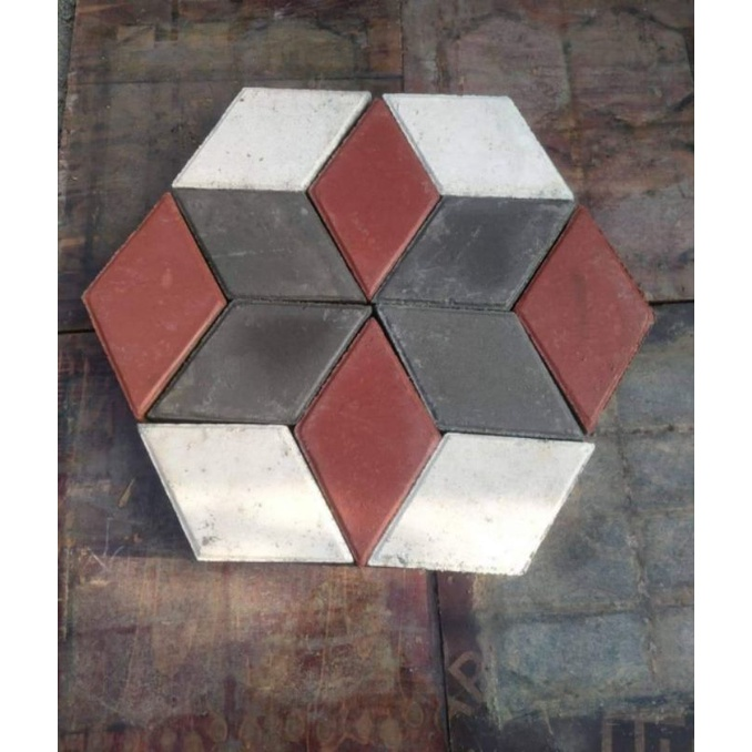 paving block 3D