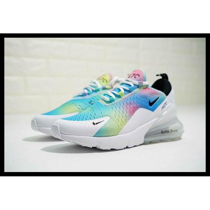 1fc7ba3e7dc Fashiongangs Sepatu Nike Air Max Airmax 270 Kylie Boon Rainbow Premium  Original Promo