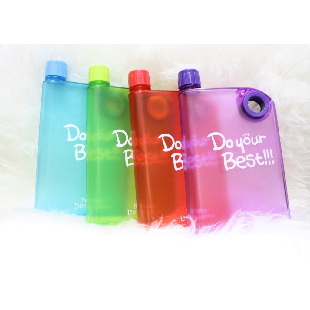 Memo Bottle A5 Do Your Best 380ml Shopee Indonesia Botol Minum