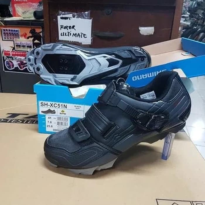 Sepatu sepeda Shimano xc51 cleat mtb race rpm Murah
