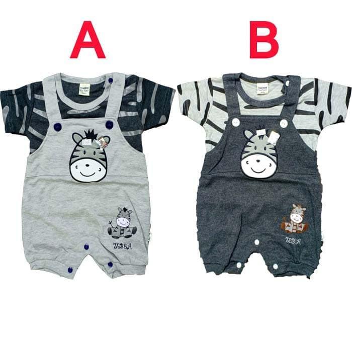 Jumper Set Newborn 0 6 Bulan Bayi Baru Lahir Motif Little Mons Ab380 Baju Bayi Laki Laki Baju Kodok Shopee Indonesia