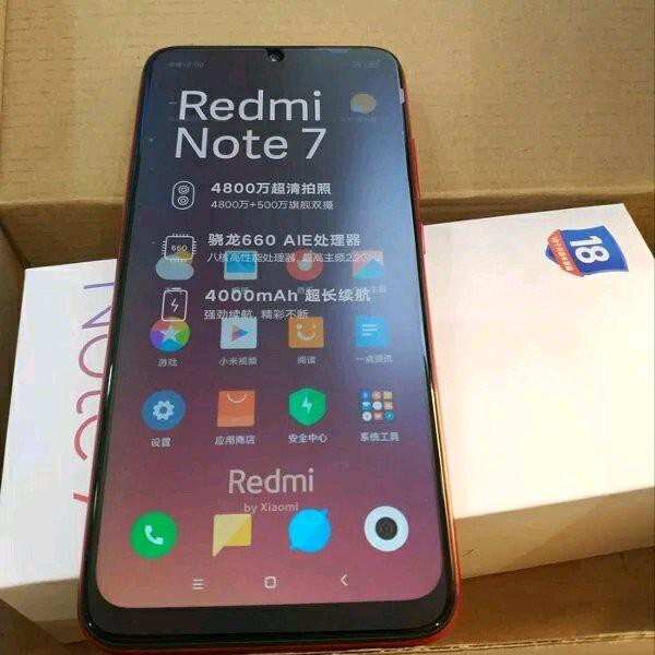 Hp Xiaomi Redmi Note 7 Ram 4gb 64gb New Shopee Indonesia