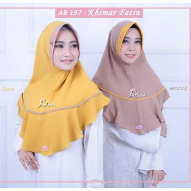 Khimar Fatin By Abika Hijab Shopee Indonesia
