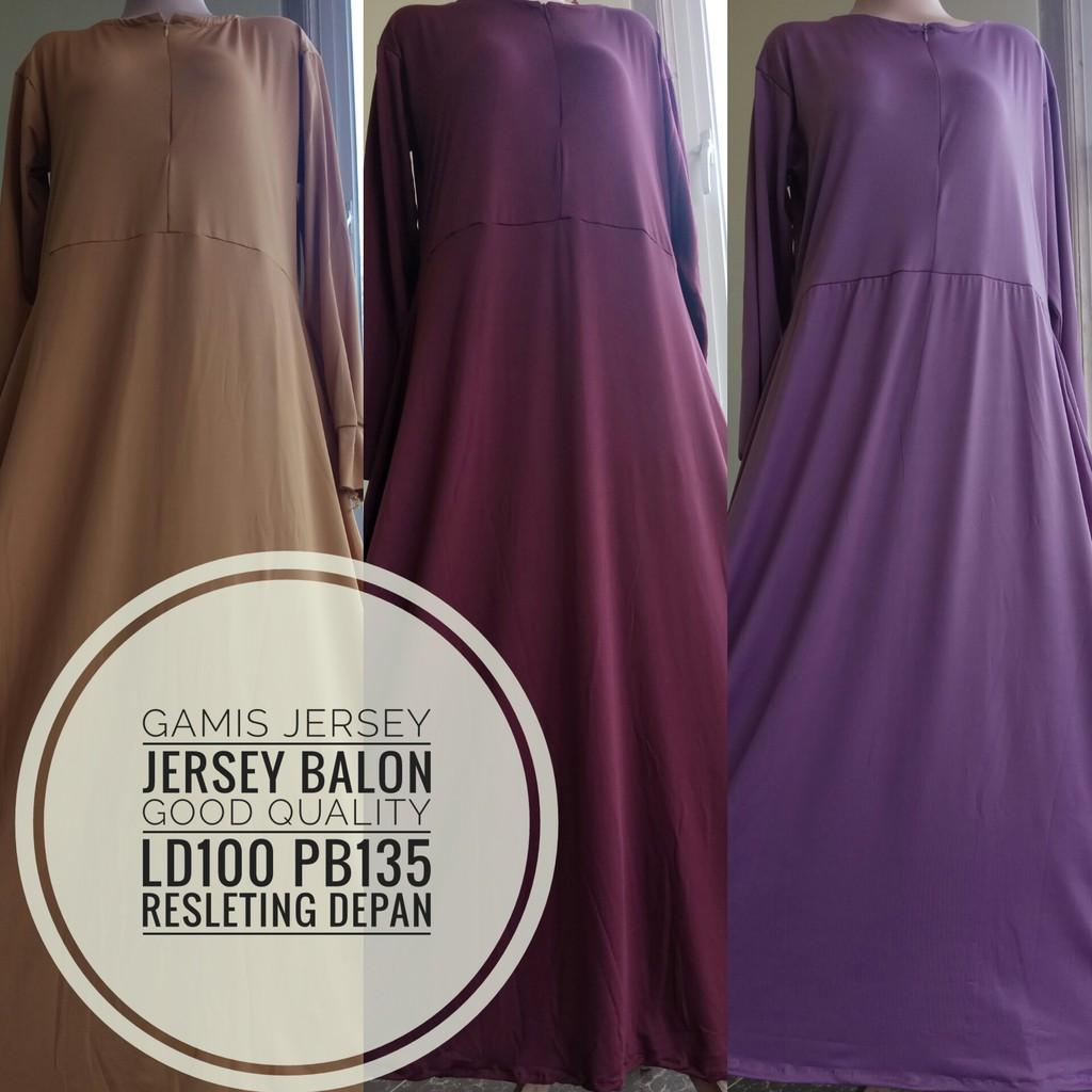 Belanja Online Dress Muslim Fashion Shopee Indonesia Grosir Gamis Syahira Matt Jersey Super