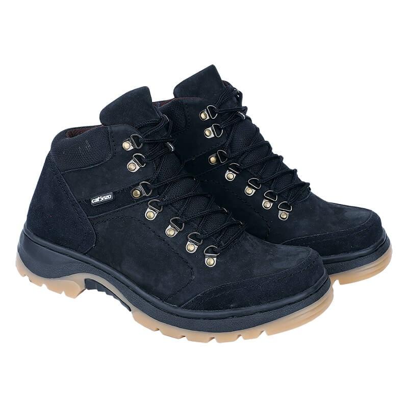 Sepatu Gunung Hiking Pria Catenzo Ri 612 Hitam Kulit - Spesifikasi ... aa51fe3d77