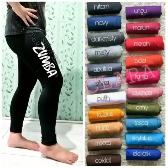 Legging Zumba Celana Legging Panjang Olahraga Sporty Aerobic Legging Wanita Murah Shopee Indonesia