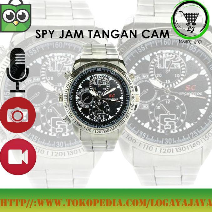 Jam Tangan Pengintai: Jam Tangan Dengan Kamera Tersembunyi DVR HD 1280*960 8GB DV