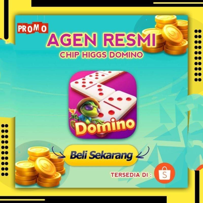 Chip Higgs Domino 1M - Chip Domino 1M - Chip Domino Agen Resmi - Koin Domino 1M Murah
