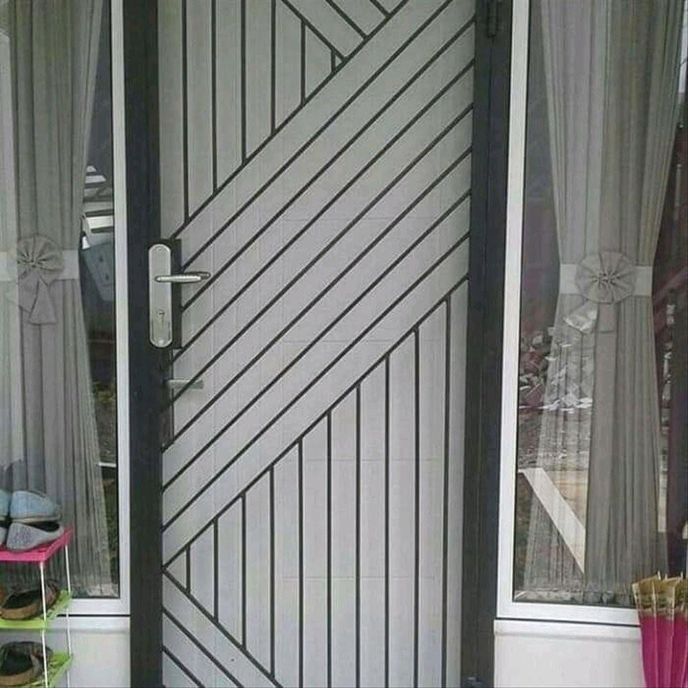 Langsung Order Pintu Besi Minimalis Pintu Dobel Pintu Kasa Nyamuk