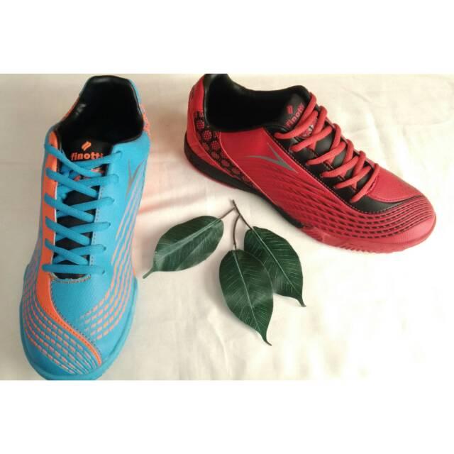 Sepatu pria finotti aff03 biru/merah
