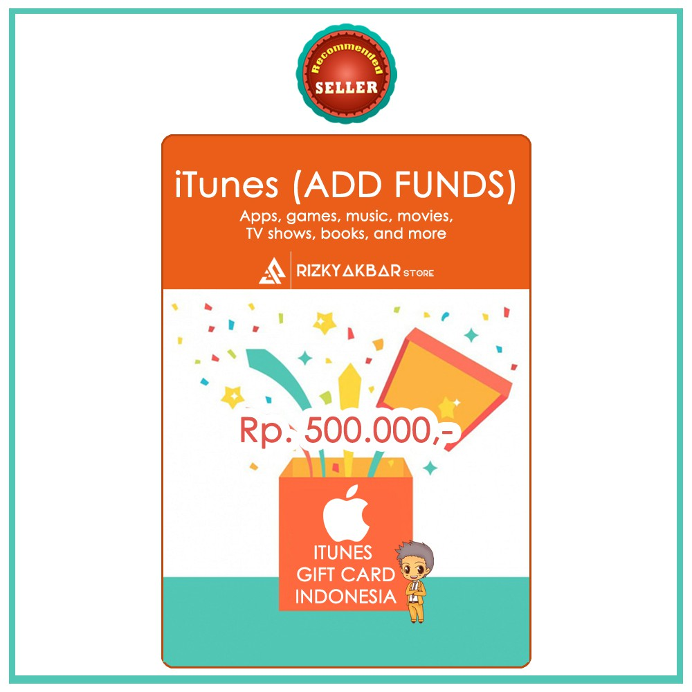 [Official] Apple Itunes Gift Card US $50 $100 / IGC 50 USD100 USD | Shopee Indonesia