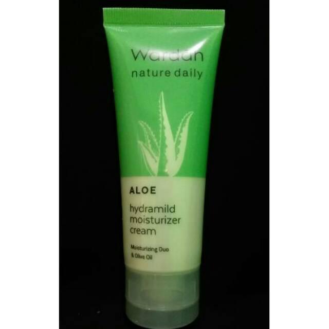 wardah hydrating moisturizer ( aloe hydramild moisturizer cream ) | Shopee Indonesia