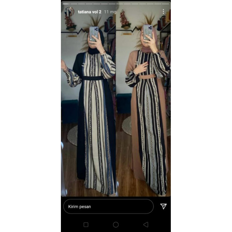 Gamis azizah amore by ruby