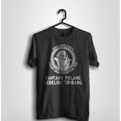 Kaos Distro Cap Orang Tua Shopee Indonesia