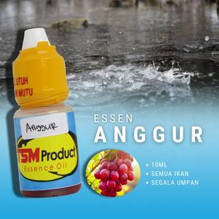 Essen Aroma Anggur 10ml Umpan Ikan Mas Bawal Patin Nilem Dll Tsm Product Shopee Indonesia