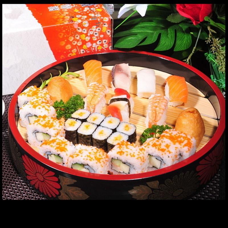 Pot Wadah Makanan Sushi Ikan Dengan Bahan Pc Dan Ukuran 9inci