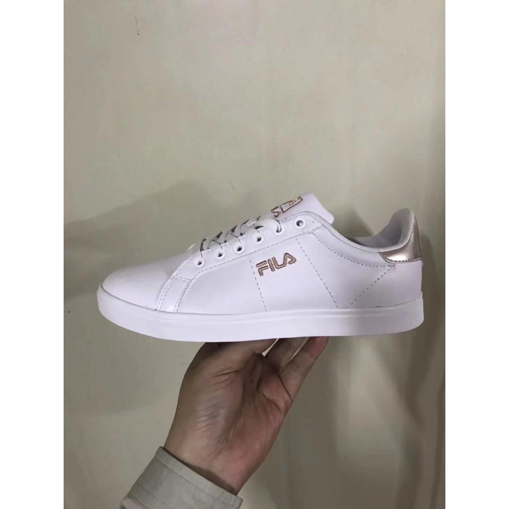 Sepatu Fila Women Fine Range Shopee Indonesia Oglio Shoes Putih Pink