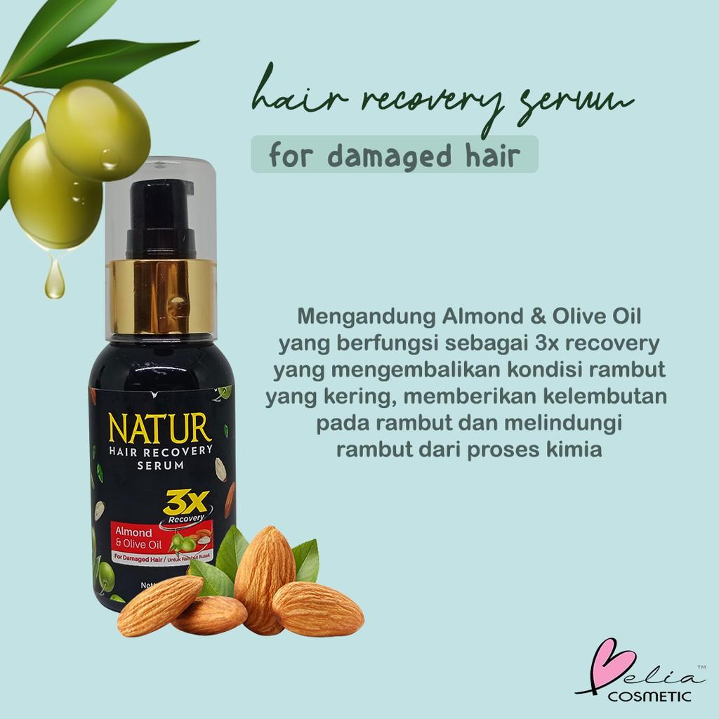 ❤ BELIA ❤ NATUR Hair Mask   Hair Vitamin   2 in 1 Shampoo & Hair Tonic(✔️BPOM)-6