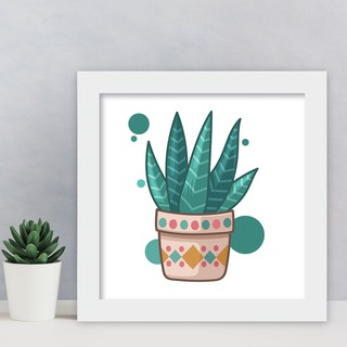 hiasan kamar dekorasi dinding rumah bunga kaktus lucu