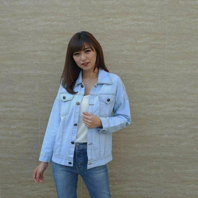 Jaket jeans murah preloved masih bagus jaket jeans murah  4256190ad9