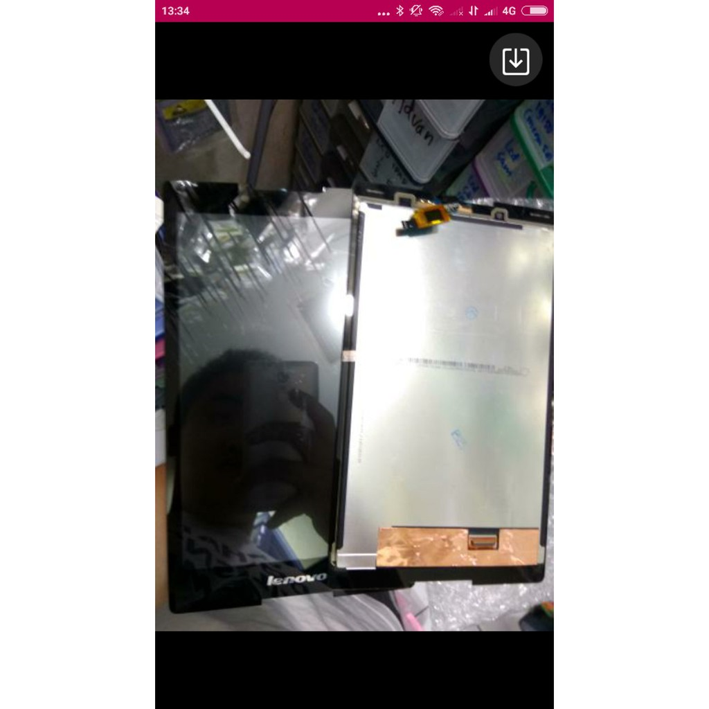 Lcd Touchscreen Lenovo Tab 2 A7 30 Original Shopee Indonesia Putih Tablet