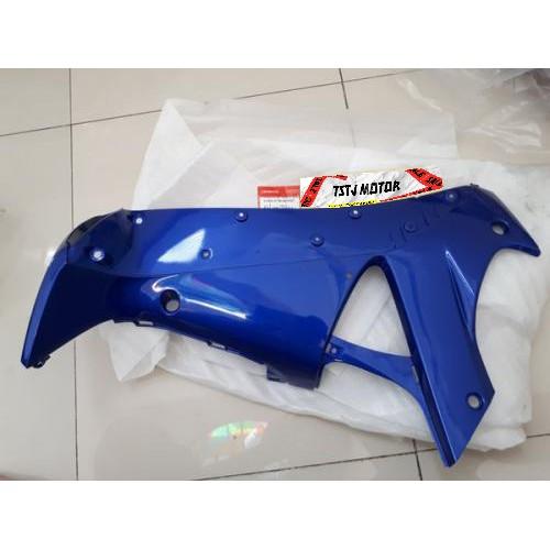 Cover Sayap Kiri Leg Shield Supra X 125 Old Warna Biru Tua lama - 64450KTM850FMT