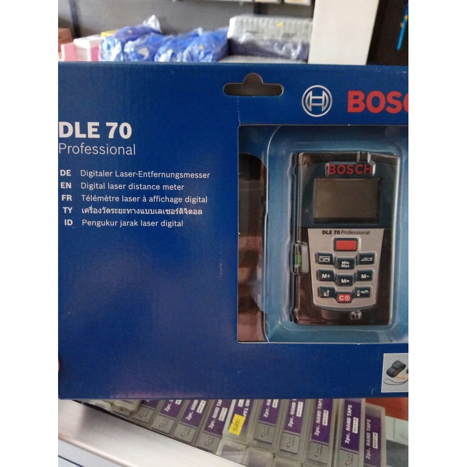 Toko Online Sumber Baru Teknik Shopee Indonesia Pengukur Laser Bosch Dle 70 Professional