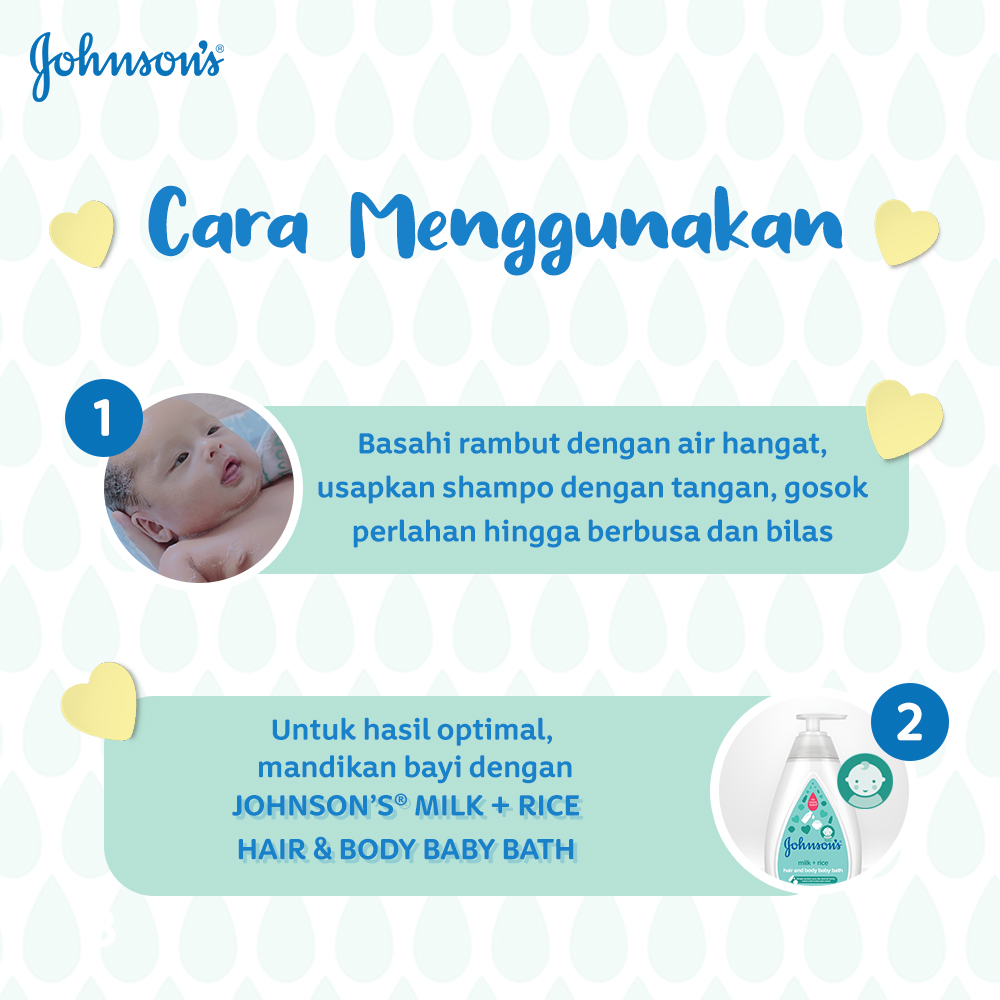 JOHNSON'S Gold Baby Shampoo - Shampo Bayi Refill 500ml-1