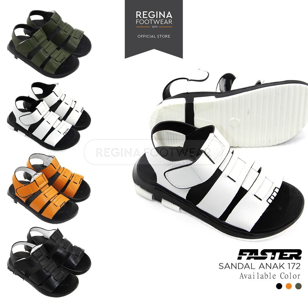 Faster Kids Sepatu Sekolah Anak Sneakers Size 26 36 Black 1704 600 Sandal Laki 1604 306 Brown 31 Back To School Shopee Indonesia