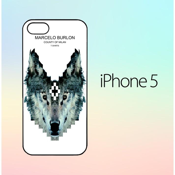 Marcelo Burlon County Of Milan W5327 Casing Custom Hardcase Iphone 5