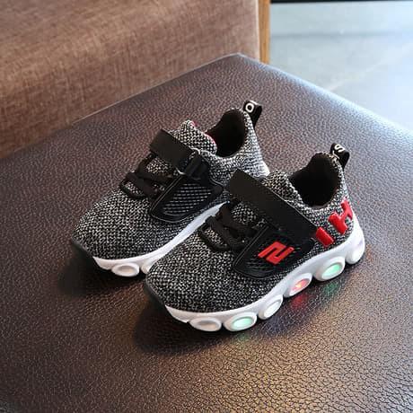 Fashion Anak Sepatu Lampu Anak Sketcher Hi Sepatu Anak Laki Laki