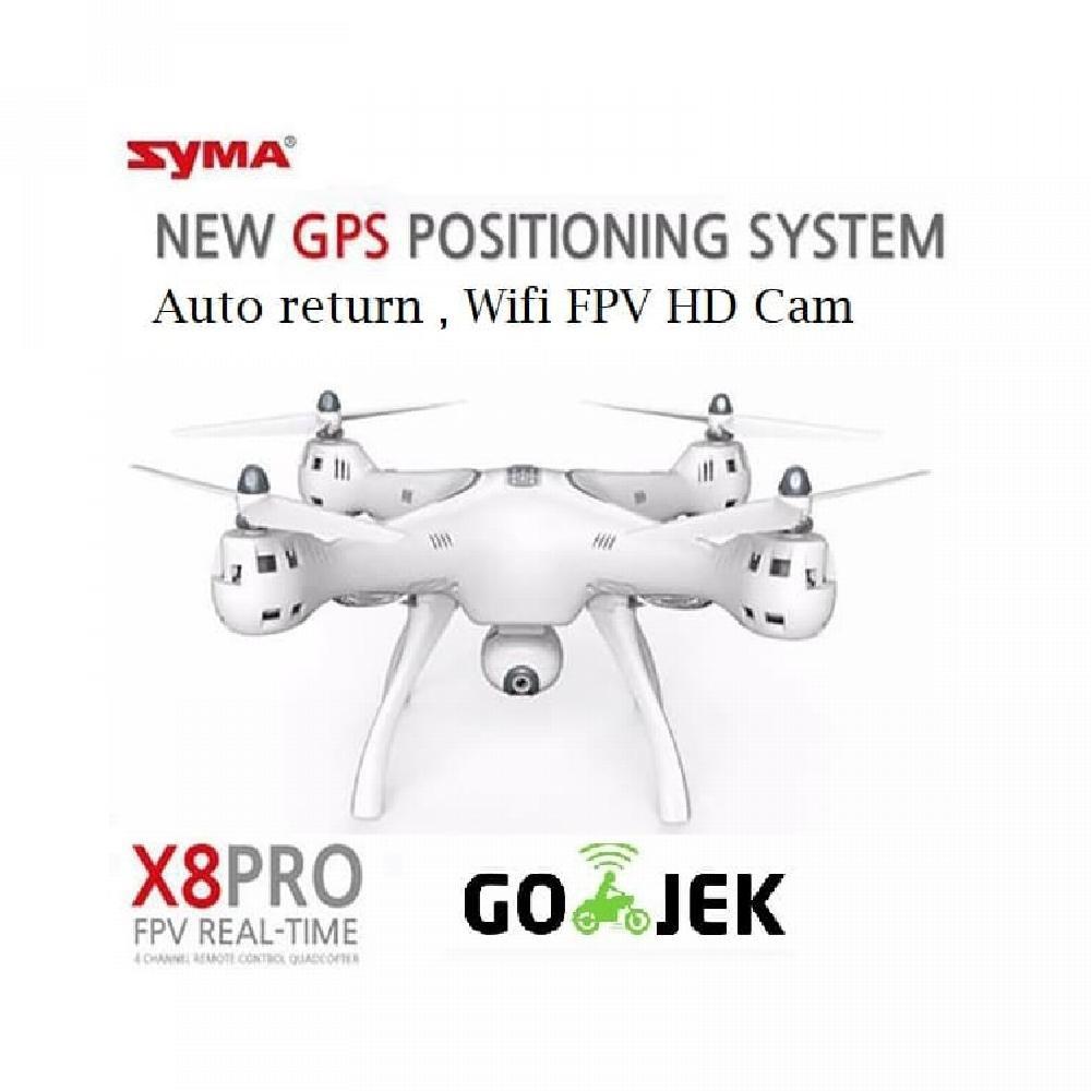Syma X8pro X8 Pro Wifi Fpv Drone Gps Auto Return Shopee Indonesia