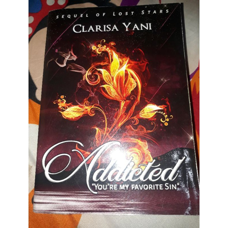 NOVEL ADDICTED - CLARISA YANI preloved ( Bekas )